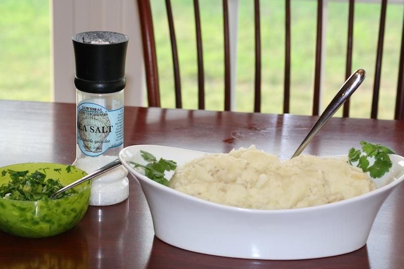 Cooking Experiment # 2: Wasabi Smashed Potatoes