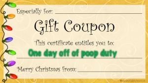 poop coupon