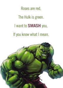 The Hulk Valentine